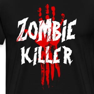 Zombie Killer T-Shirts - Men's Premium T-Shirt