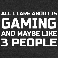 Care about Gaming T-Shirts