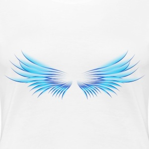 blue wings - Women's Premium T-Shirt