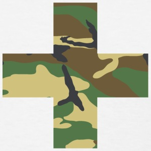Military Swiss Cross - Women's T-Shirt