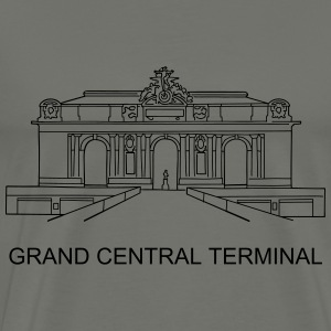 Grand Central Station New York - Men's Premium T-Shirt