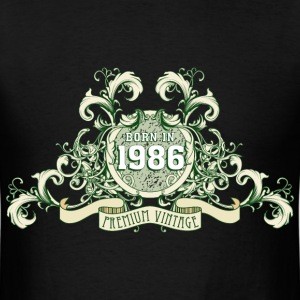042016_born_in_the_year_1986c T-Shirts - Men's T-Shirt