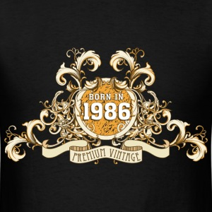 042016_born_in_the_year_1986a T-Shirts - Men's T-Shirt