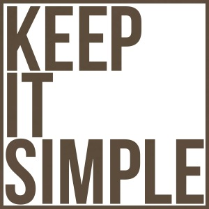 Keep it simple - Men's Premium T-Shirt