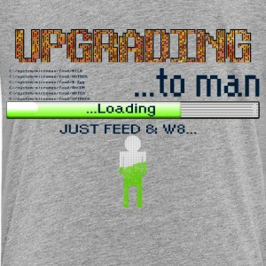 Upgrading to man - Kids' Premium T-Shirt