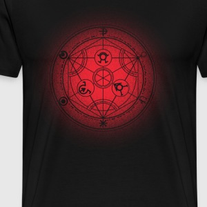 transmutation halftone - Men's Premium T-Shirt