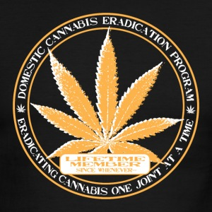 Domestic Cannabis Eradication Program Ringer Tee - Men's Ringer T-Shirt