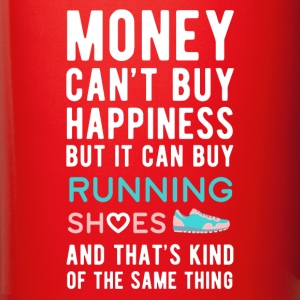 Running Shoes Money can't Buy Unique Gift T-shirt Mugs & Drinkware - Full Color Mug