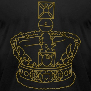 Crown T-Shirts - Men's T-Shirt by American Apparel