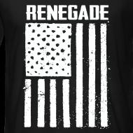 Design ~ Black Renegade Flag T-Shirt