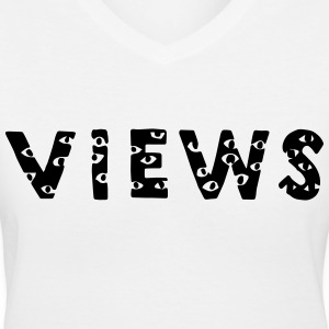 Views From The Six Women's T-Shirts - Women's V-Neck T-Shirt