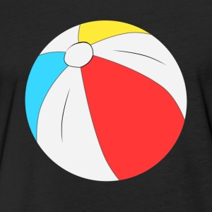 Beach Ball T-Shirts - Fitted Cotton/Poly T-Shirt by Next Level