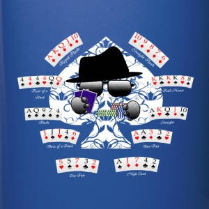 PokerCombinations - HatMan Robot - Full Color Mug