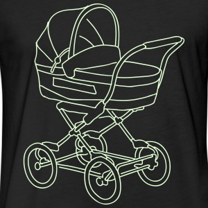 Baby stroller T-Shirts - Fitted Cotton/Poly T-Shirt by Next Level
