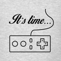 It's time to game, men T-Shirt