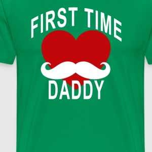 cute_first_time_daddy_tshirt_ - Men's Premium T-Shirt