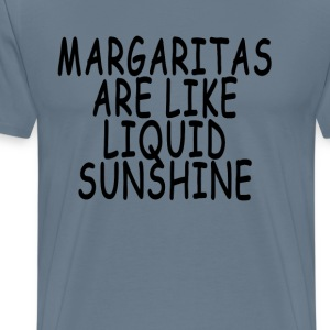 margaritas_are_like_liquid_sunshine - Men's Premium T-Shirt