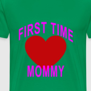 cute_first_time_mommy_maternity_tshirt_ - Men's Premium T-Shirt