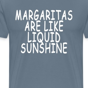 margaritas_are_like_liquid_sunshine_ - Men's Premium T-Shirt