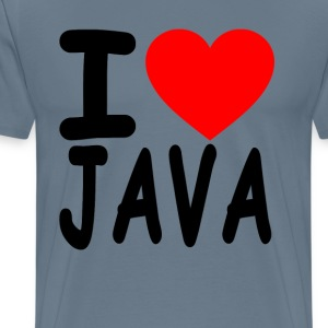 i_love_java - Men's Premium T-Shirt