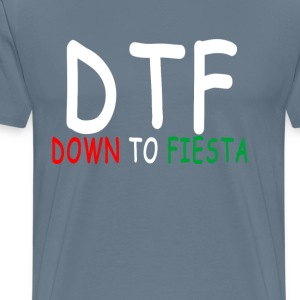 down_to_fiesta - Men's Premium T-Shirt