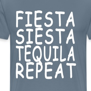 fiesta_siesta_tequila_repeat_ - Men's Premium T-Shirt