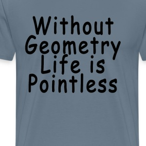 without_geometry_life_is_pointless_tshir - Men's Premium T-Shirt