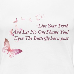 Live Your Truth - Women's Premium T-Shirt