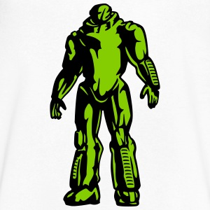 Robot geek T-Shirts - Men's V-Neck T-Shirt by Canvas