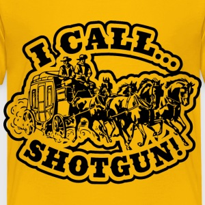 I Call SHOTGUN! Light Tee Baby & Toddler Shirts - Toddler Premium T-Shirt