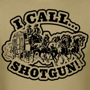 I Call SHOTGUN! Light Tee T-Shirts - Men's T-Shirt