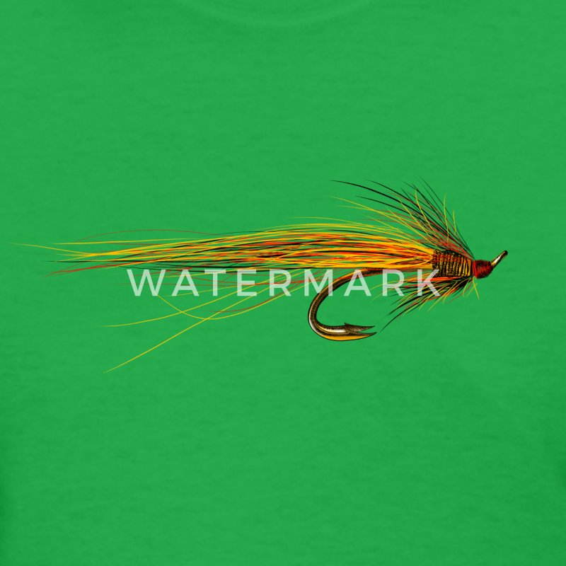 fly fishing hook Women's T-Shirts - Women's T-Shirt