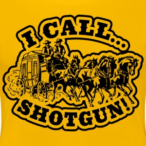 I Call SHOTGUN! Light Tee Women's T-Shirts - Women's Premium T-Shirt