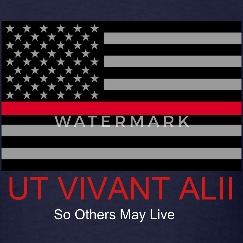 UT VIVANT ALII (so others may live) - Men's T-Shirt