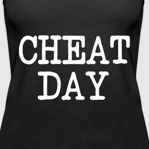 Cheat Day funny diet shirt - Women's Premium Tank Top