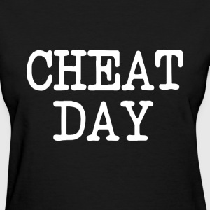 Cheat Day funny diet shirt - Women's T-Shirt