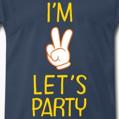 I\'m Two - Let\'s Party (Birthday) T-Shirts