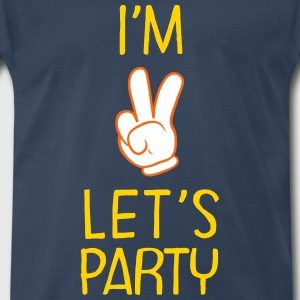 I\'m Two - Let\'s Party (Birthday) T-Shirts - Men's Premium T-Shirt