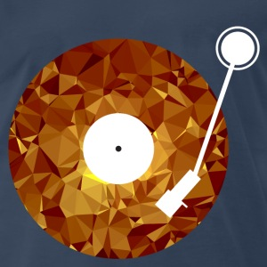 Golden Viny (Low Poly) T-Shirts - Men's Premium T-Shirt