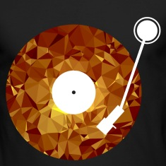 Golden Viny (Low Poly) Long Sleeve Shirts