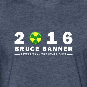Bruce Banner 2016 - Fitted Cotton/Poly T-Shirt by Next Level