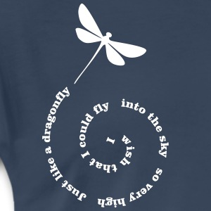 Fly Away dragonfly T-Shirts - Men's Premium T-Shirt