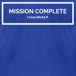 MISSION COMPLETE T-Shirts - Men's T-Shirt by American Apparel
