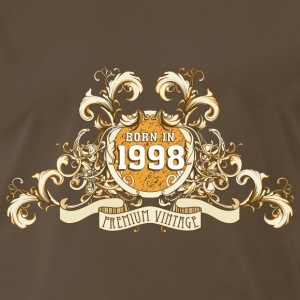 042016_born_in_the_year_1998a T-Shirts - Men's Premium T-Shirt