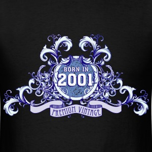 042016_born_in_the_year_2001b T-Shirts - Men's T-Shirt