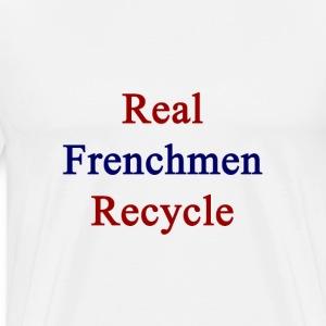 real_frenchmen_recycle T-Shirts - Men's Premium T-Shirt