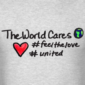TheWorldCares T-Shirts - Men's T-Shirt