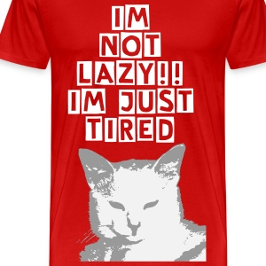 Im Not Lazy - Men's Premium T-Shirt