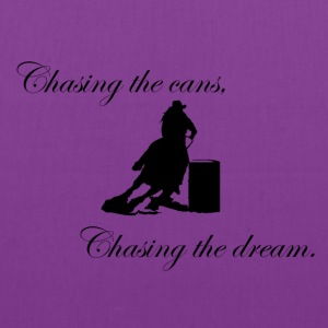 Chasing the cans, Chasing the dream. - Tote Bag