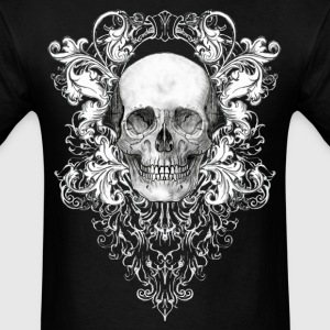 Ornate Skull T-Shirts - Men's T-Shirt